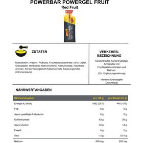 PowerBar PowerGel Fruit Box 24x41g, Red Fruit